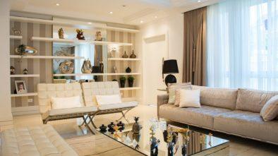 Vkusný obývací pokoj